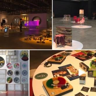남도의 가을과 함께하는 디자인 수묵 두 비엔날레 개막
